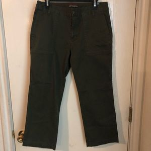 3 for $25 Tommy Hilfiger green cargo pants